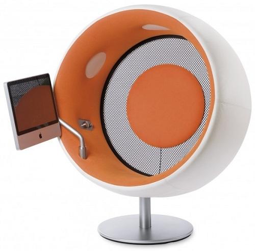 Sonic Chair es un sillón fabricado en alemania para escuchar música
