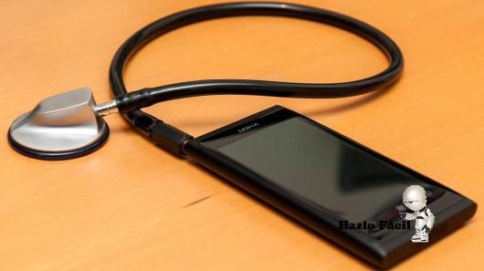 estetoscopio digital para teléfonos móviles