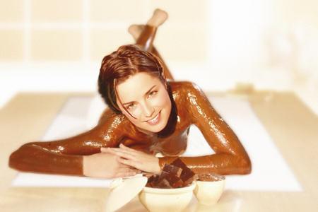 un baño en chocolate para avivar el romance