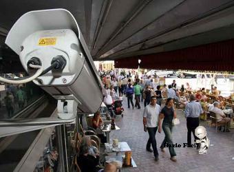 tecnología en camara de vigilancia para detectar borrachos