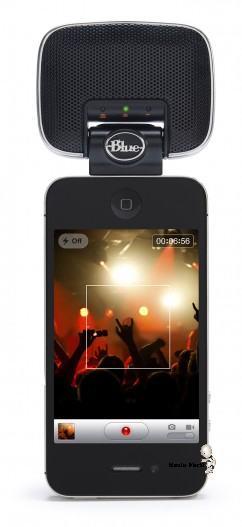 microfono con calidad profesional para el iPhone 4S
