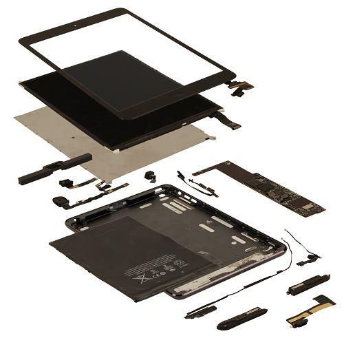 construir al iPad mini costaría 188 dólares