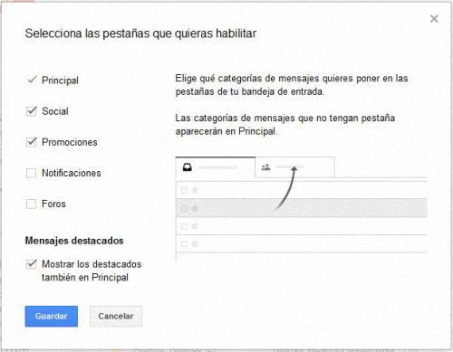 nueva interfaz en Gmail 02