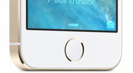 detector de huellas digitales en el iPhone 5S