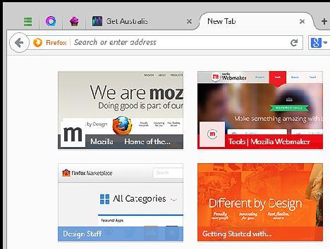 Australis de Firefox 01