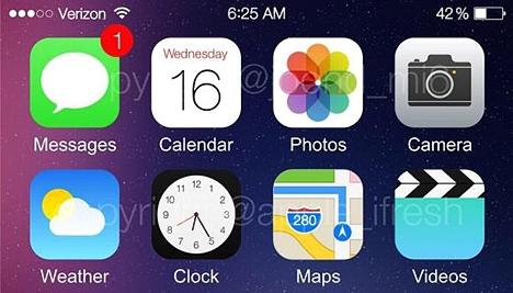 Reloj en iOS 8