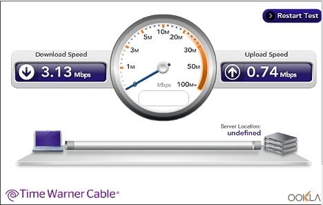 Velocidad de Internet en Corea del Sur 02
