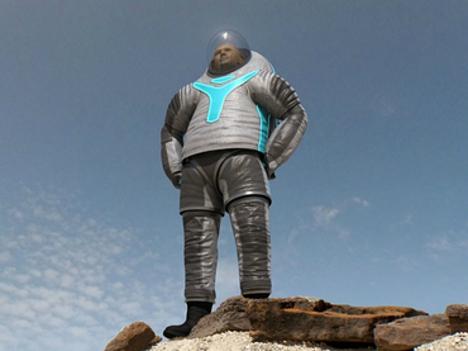 traje espacial a Marte