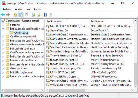 Spyware en Windows 10