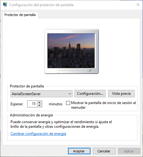 Screensaver del Apple TV
