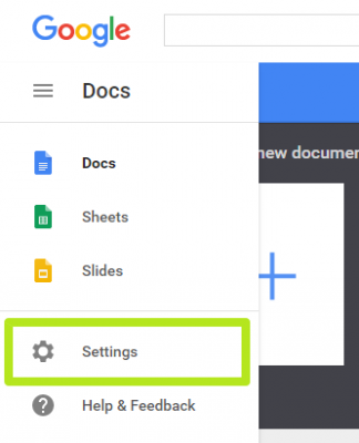 Trucos Google Docs