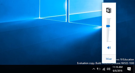Control de Volumen de Windows 7 en Windows 10
