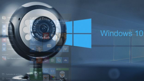 Webcam en Windows 10
