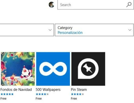 Instalar Fondos de pantalla en Windows 10