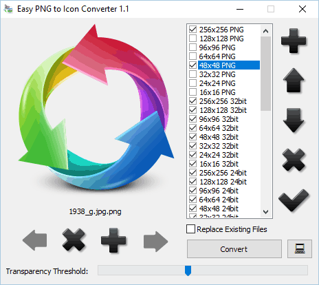 PNG to Icon Converter