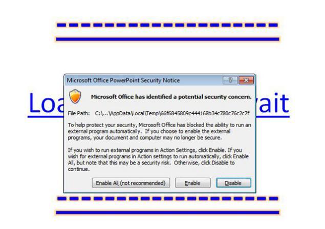 nueva variante de malware en powerpoint