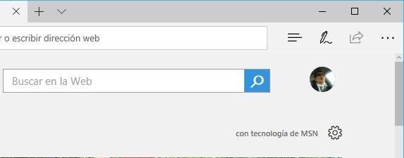 Microsoft Edge en Windows 10