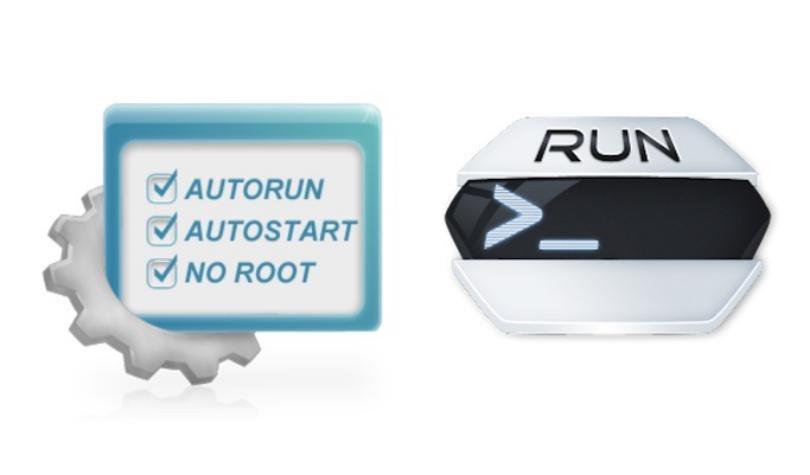 Iniciar automaticamente aplicaciones portatiles en Windows 10