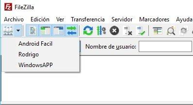 ftp en Windows