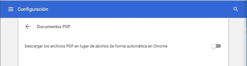 descargar Archivos PDF en Google Chrome
