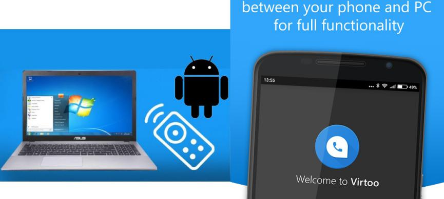 VirTOO controlar android desde Windows