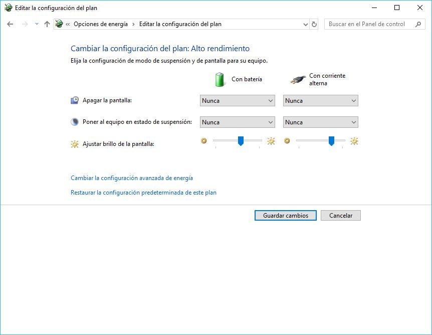 carga de la bateria en el PC con Windows