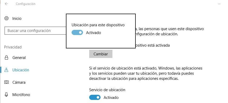 Luz Nocturna en Windows 10