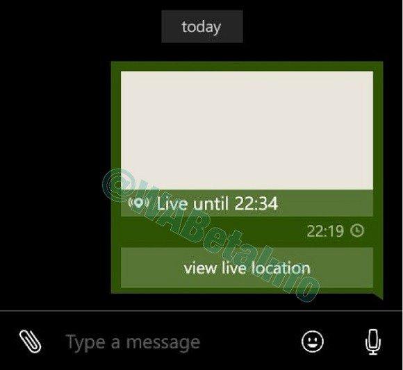 WhatsApp para Windows Phone compartir ubicacion