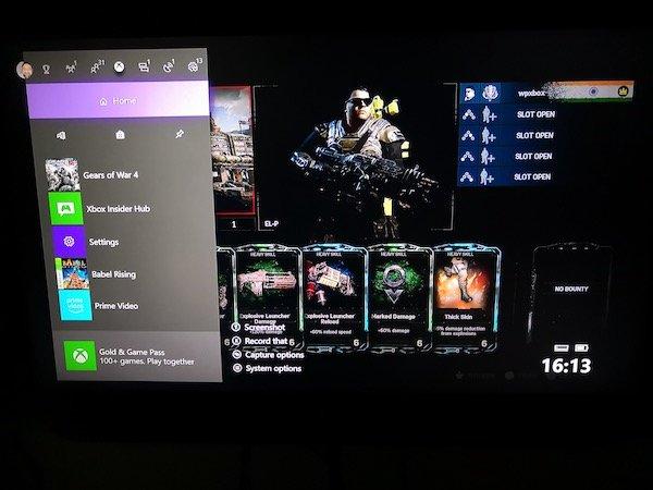 hacer capturas la Xbox One
