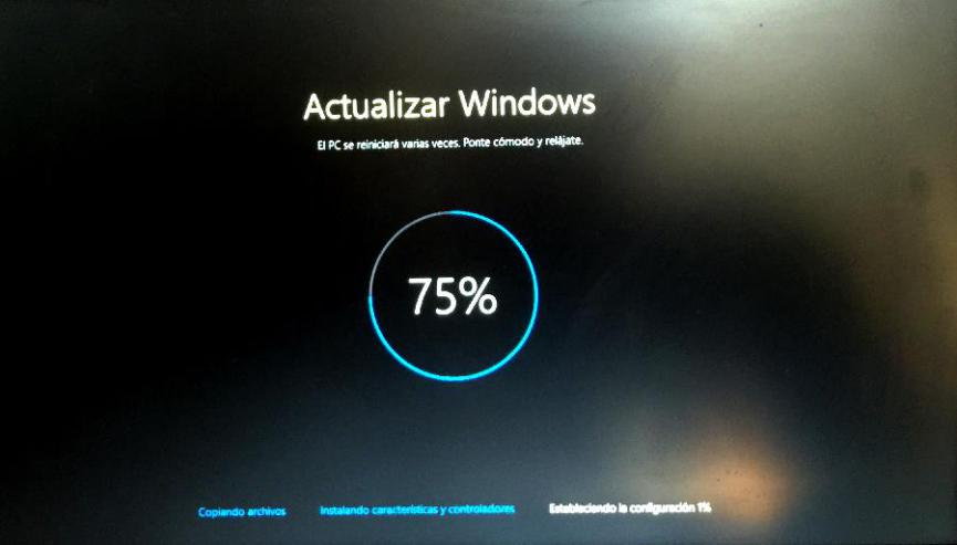 Actualizar a Windows 10
