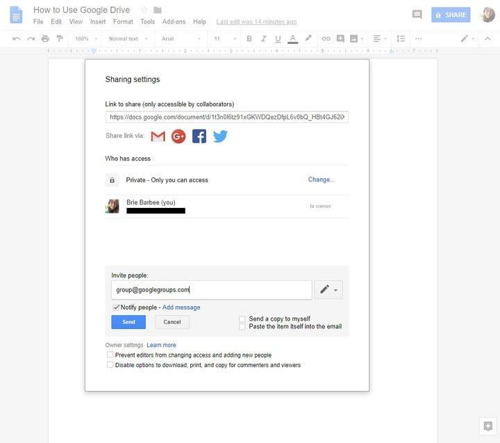 Google Drive trucos