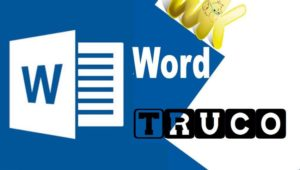 Truco Word Windows 10