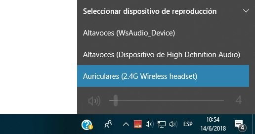 EarTrumpet mezclador de volumen Windows 10
