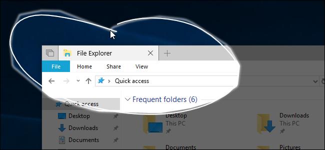 capturar pantallas en Windows 10