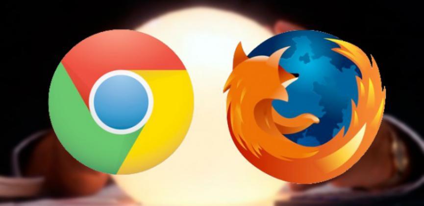 Mozilla Firefox versus chrome