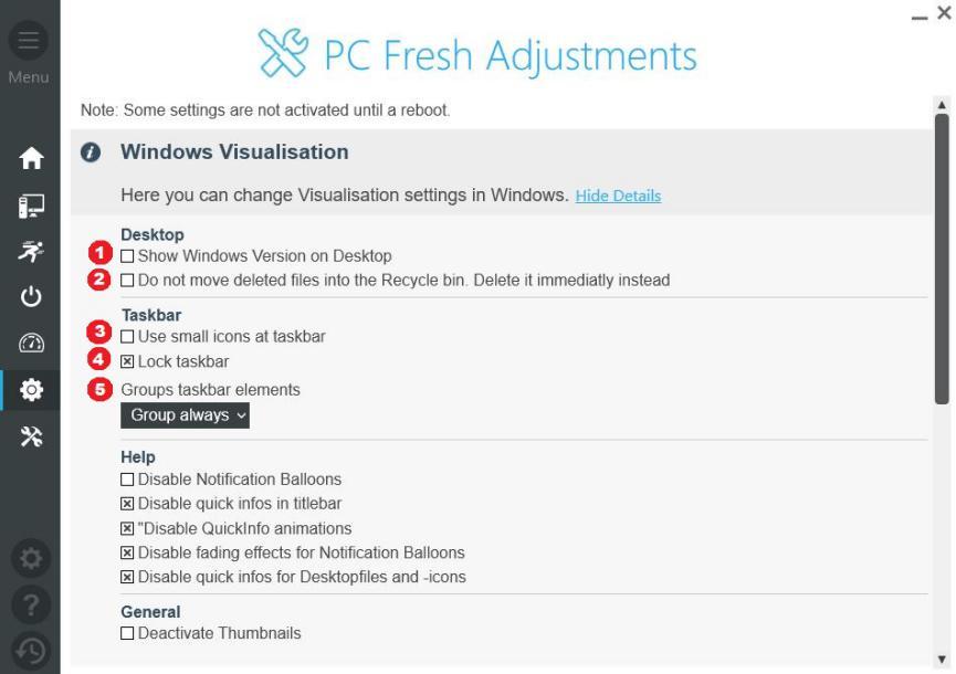 PC Fresh para personalizar Windows 10