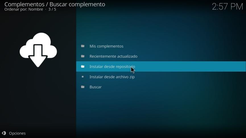 Kodi para Windows 10
