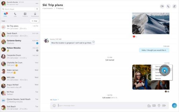 grabar conversaciones en Skype en Windows 10