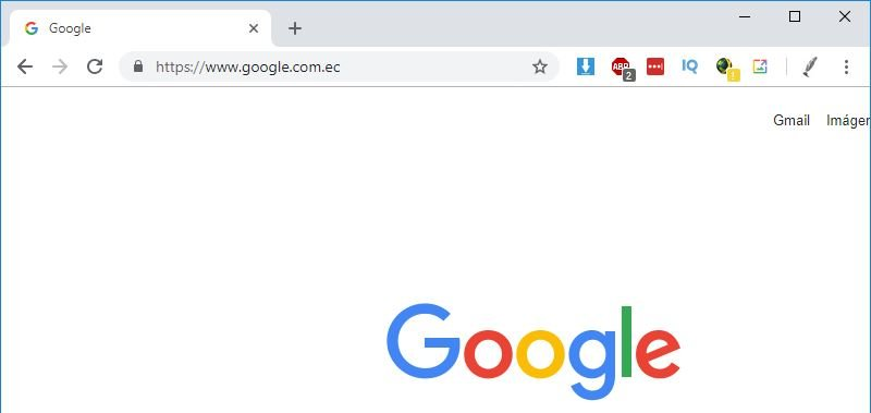 Nuevo Google Chrome para Windows