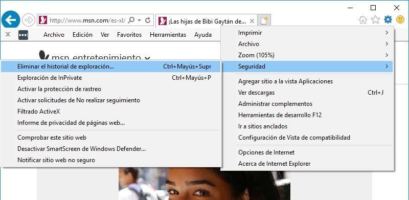 problemas Internet Explorer 11 Lento