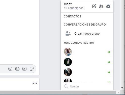 desactivar Chat en Facebook