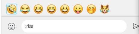 emojis en WhatsApp Desktop