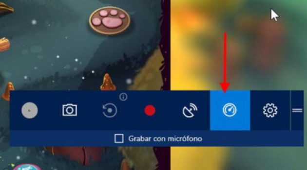 Barra de Juegos Windows 10