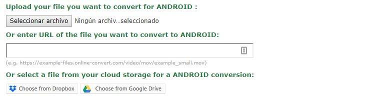 los Videos MP4 para Android