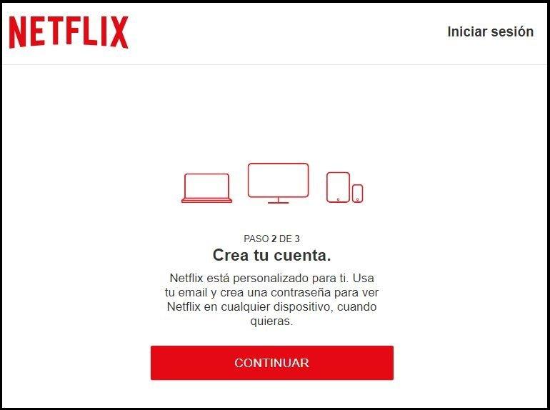crear una cuenta de netflix gratis