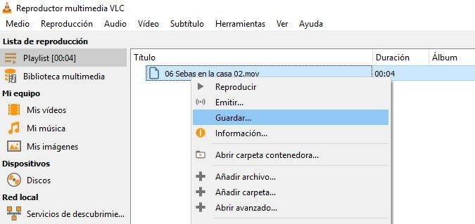 VLC Media Player convertir videos