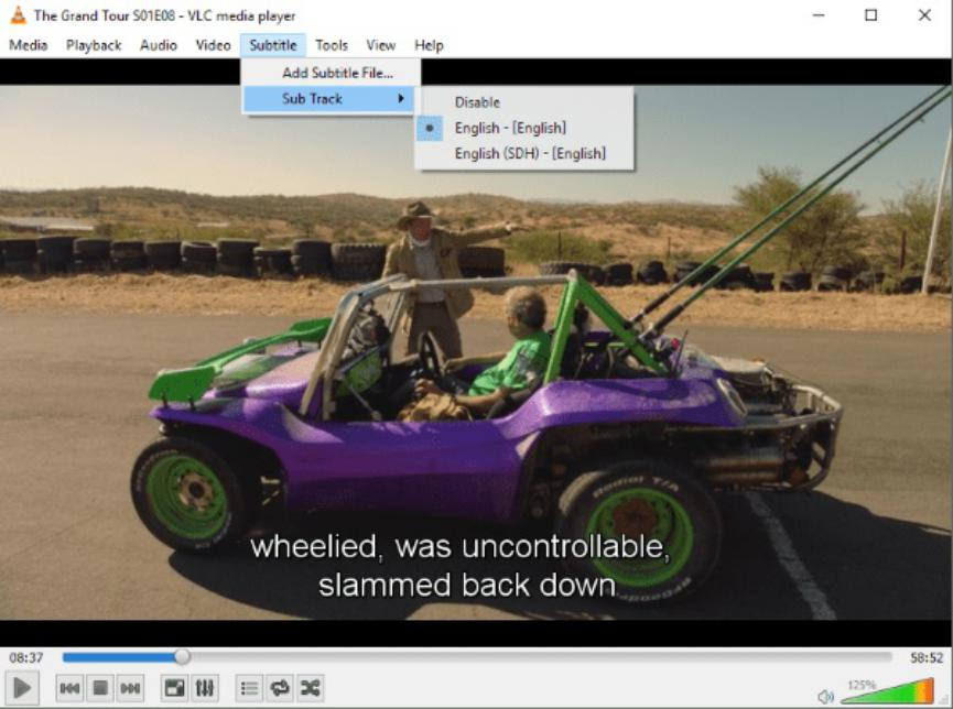 subtitulos VLC Media Player