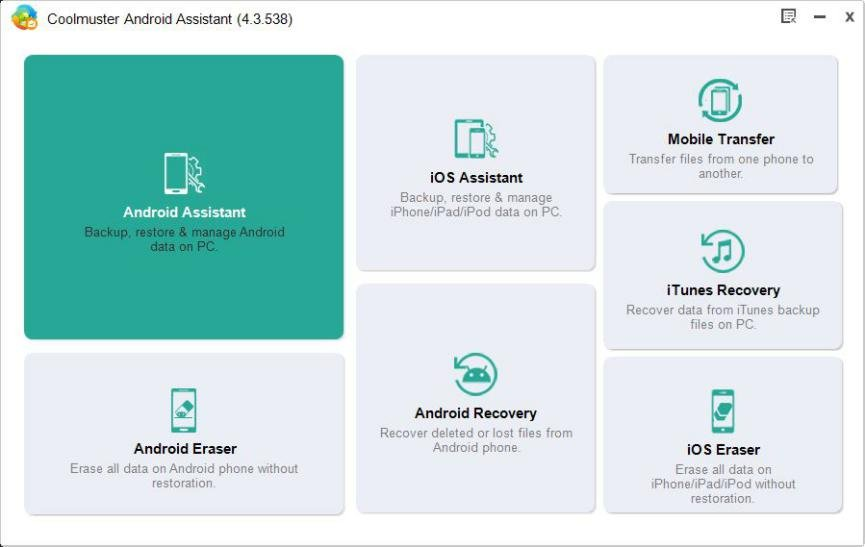 descargar gratis Coolmuster Android Assistant