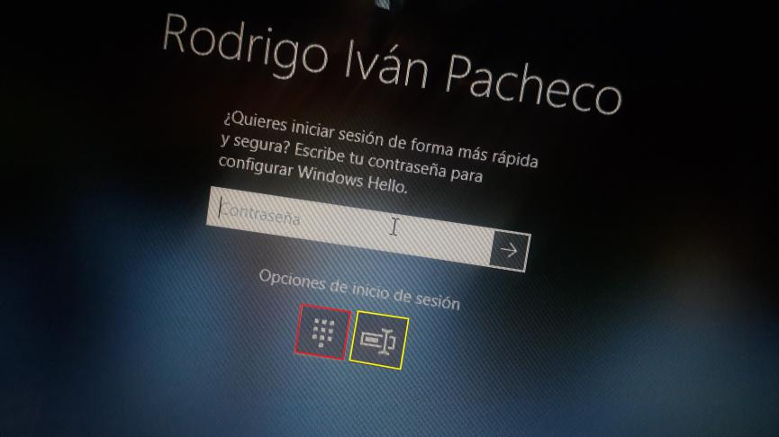 Desactivar Hello Windows 10