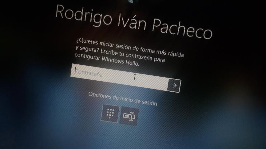 Hello de Windows 10